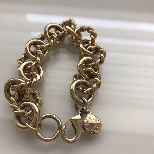 JCrew Gold Chunky Bracelet